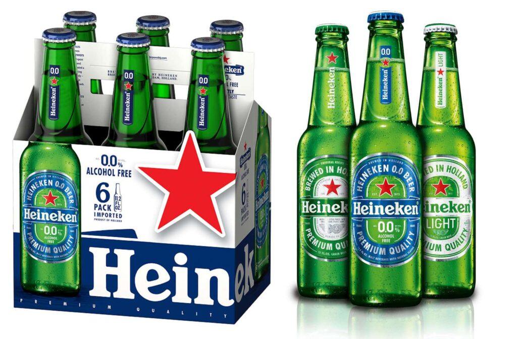 what percent of alcohol is in heineken beer