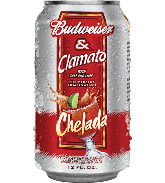 how much alcohol is in budweiser chelada