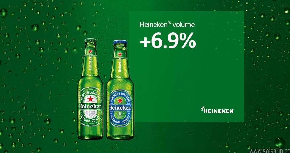 how much percent alcohol does heineken have