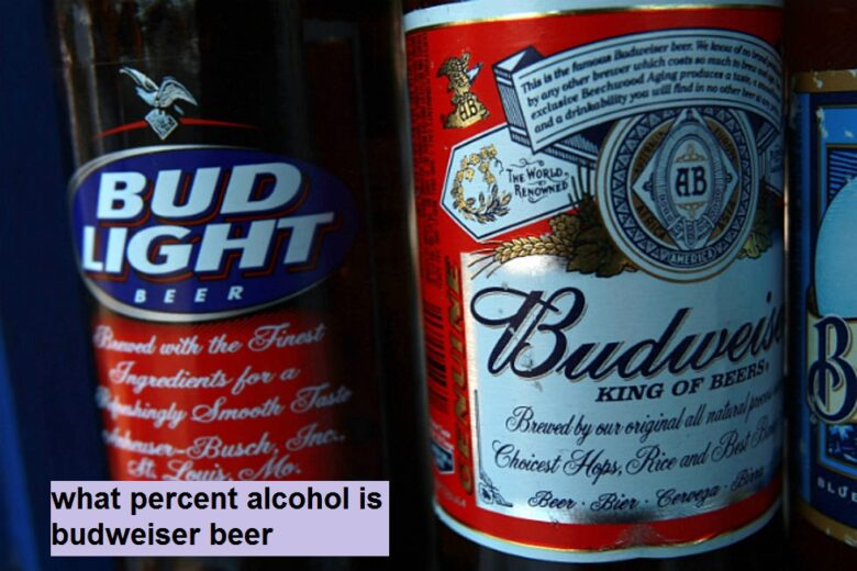 what percent alcohol is budweiser beer
