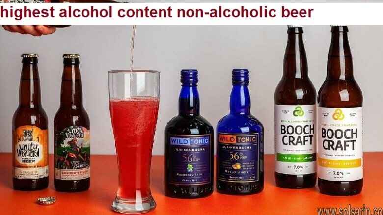 highest alcohol content non-alcoholic beer