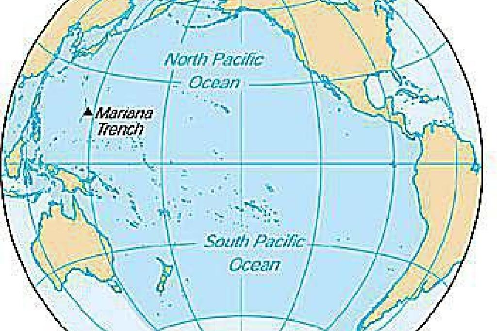 how to calculate percentage of water in pacific ocean