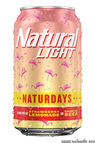 alcohol content natural light strawberry lemonade