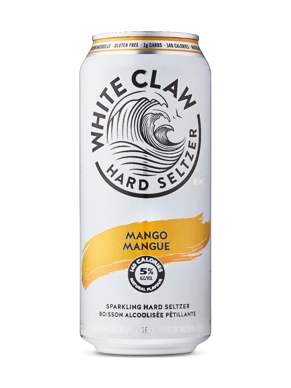how much alcohol percentage is in white claw