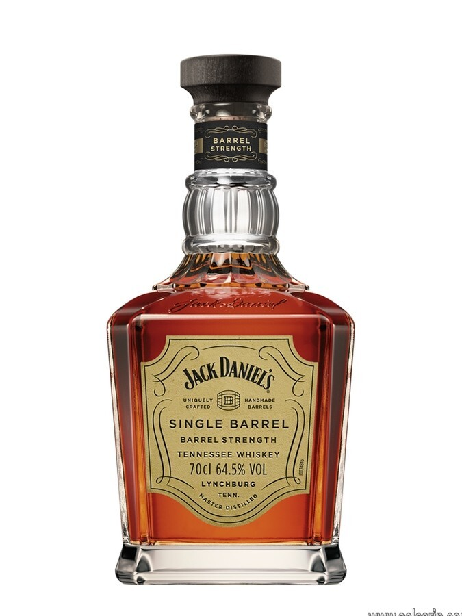 jack daniels single barrel strength whiskey