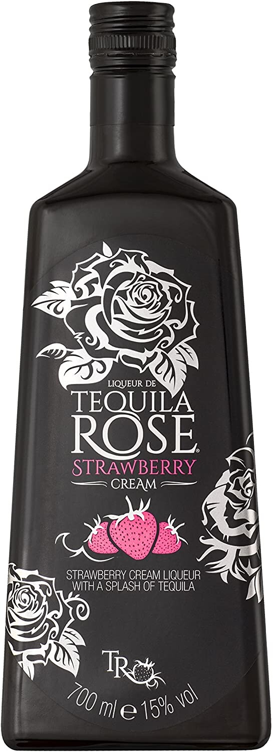 what percent alcohol is tequila rose