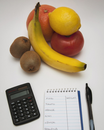 how to find percentage of water in fruits and vegetables