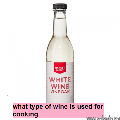 what type of wine is used for cooking