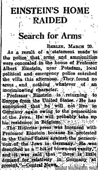 when did einstein renounce german citizenship?