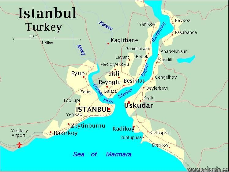 what continent is istanbul in?
