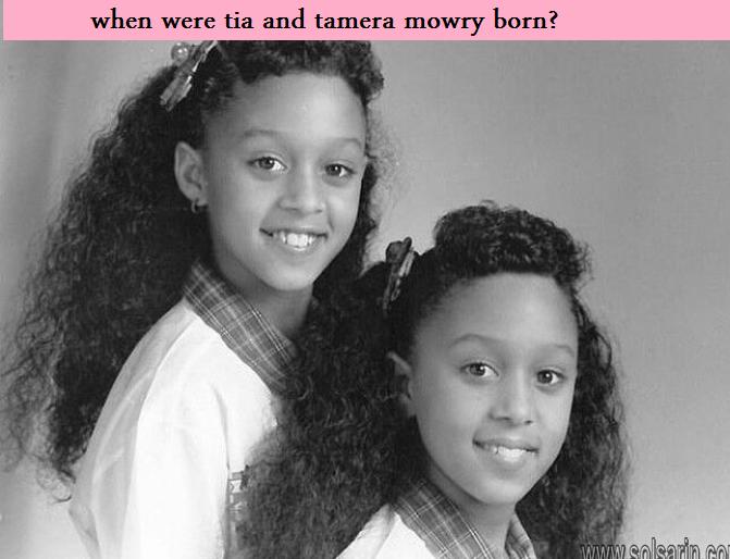when were tia and tamera mowry born?
