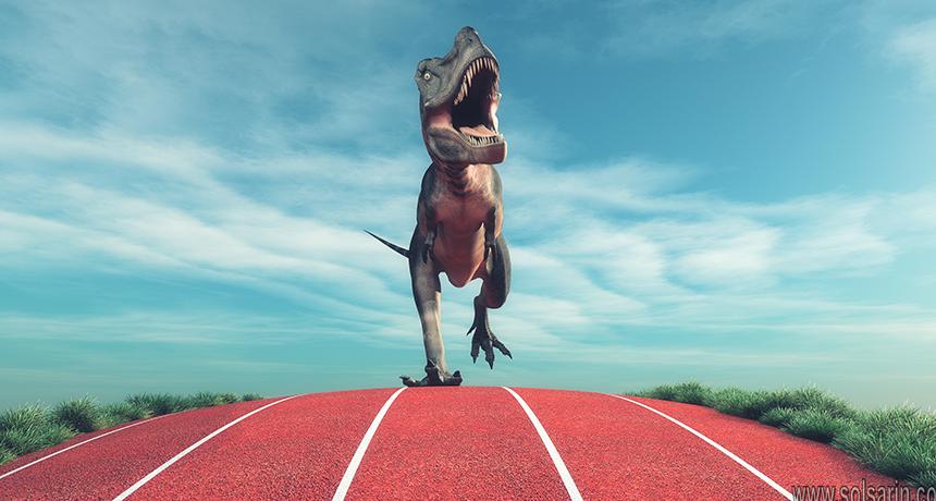 tyrannosaurus rex speed