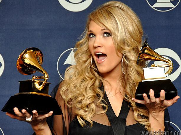 how many grammy awards has carrie underwood won?