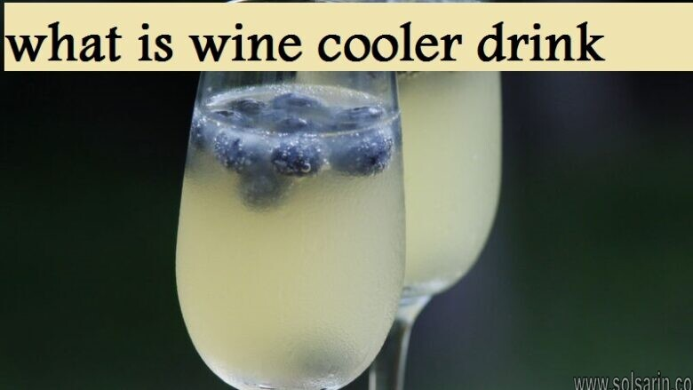 what is wine cooler drink