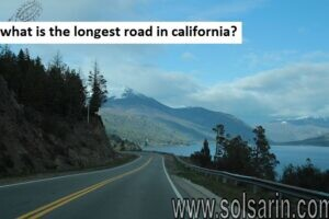 what is the longest road in california?