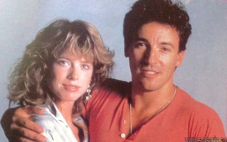 who was bruce springsteen's first wife?
