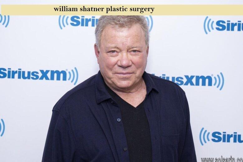 william shatner plastic surgery