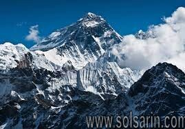 how tall is mount everest inches