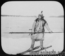 in which country was skiing invented?