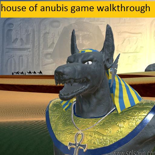house of anubis game walkthrough