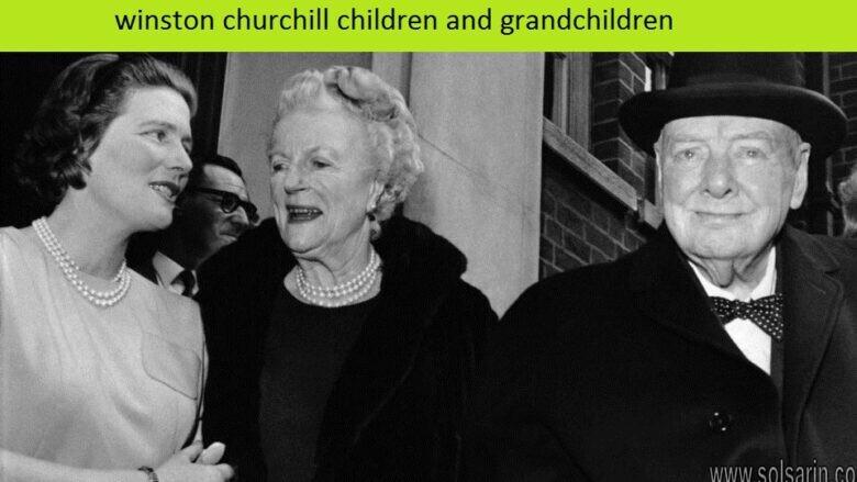 winston churchill children and grandchildren