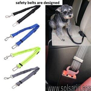 safety belts are designed