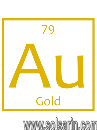 what is the chemical symbol for gold?
