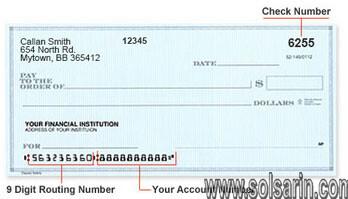 bank of america routing number washington