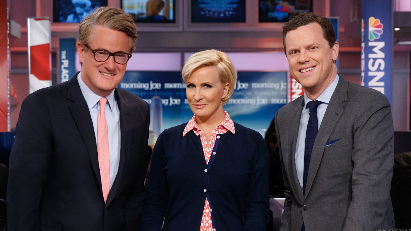 does morning joe repeat first hour