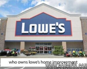 who owns lowes home improvement